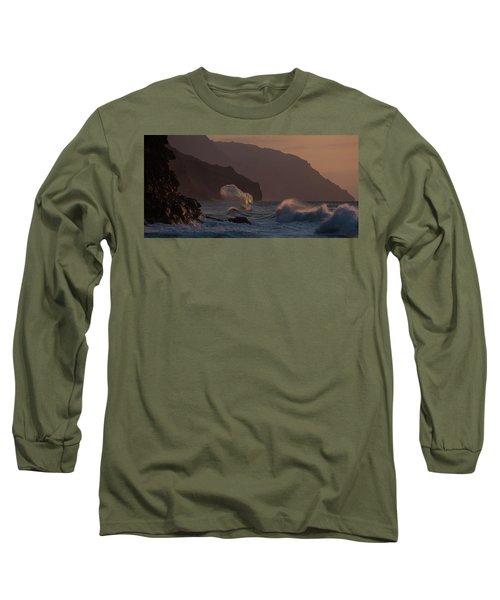 Golden Hour Wave Long Sleeve T-Shirt