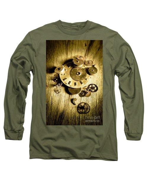 Golden Industry Gears  Long Sleeve T-Shirt