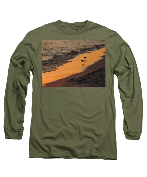Golden Light At Sunset Long Sleeve T-Shirt