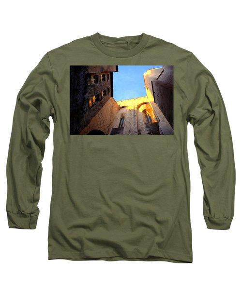 Golden Light In Avignon Long Sleeve T-Shirt
