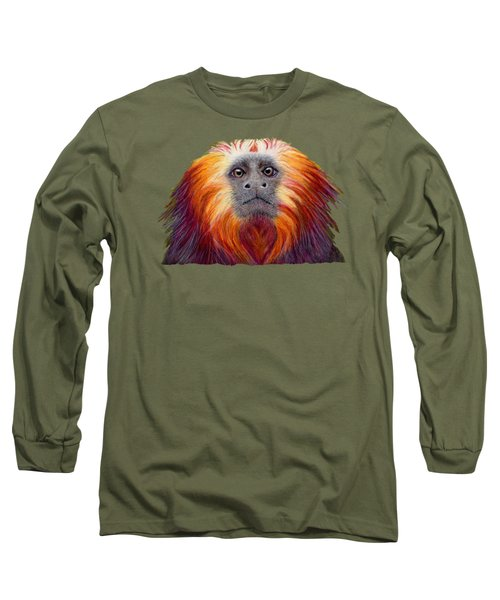 Golden Lion Tamarin Long Sleeve T-Shirt