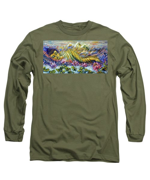Golden Peace Long Sleeve T-Shirt