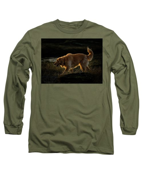 Long Sleeve T-Shirt featuring the photograph Golden by Randy Hall