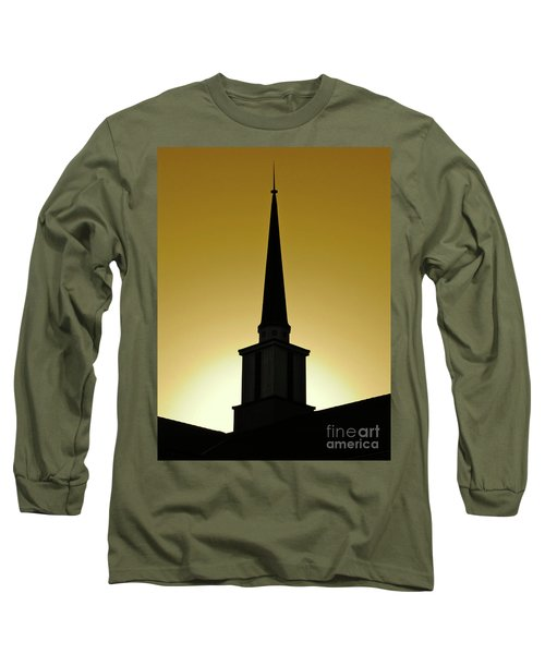 Golden Sky Steeple Long Sleeve T-Shirt