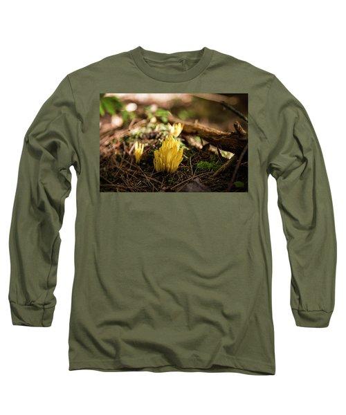 Golden Spindles Long Sleeve T-Shirt