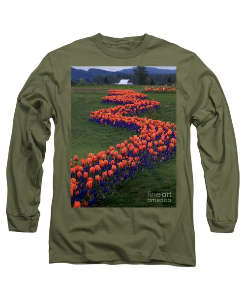 Long Sleeve T-Shirt featuring the photograph Golden Thread by Peter Simmons
