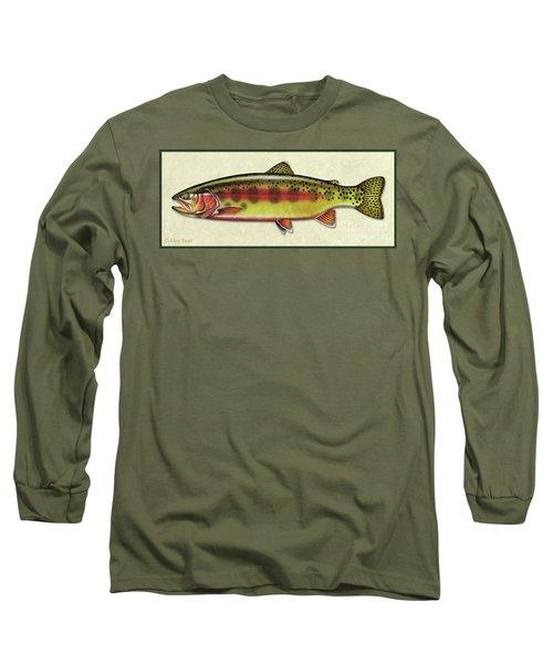 Golden Trout Id Long Sleeve T-Shirt