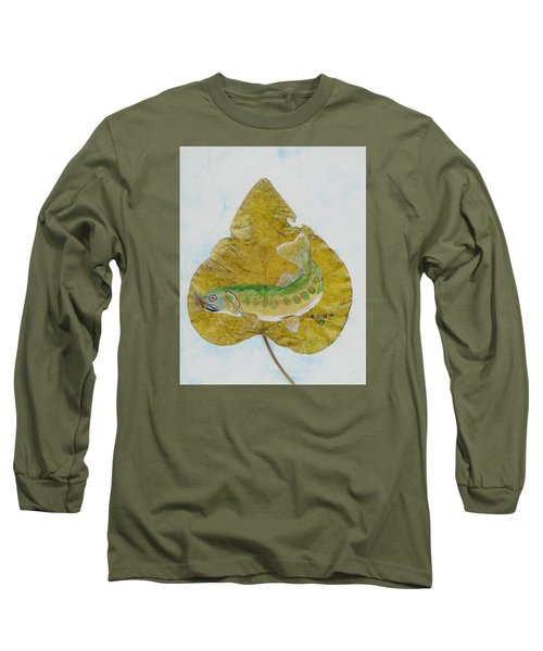 Golden Trout Long Sleeve T-Shirt by Ralph Root