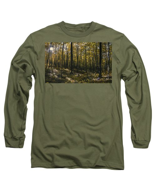 Golden Woods Long Sleeve T-Shirt