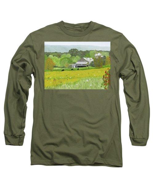 Goldenrod Abounds Long Sleeve T-Shirt