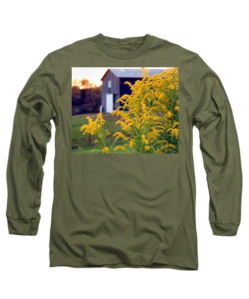 Goldenrod Long Sleeve T-Shirt