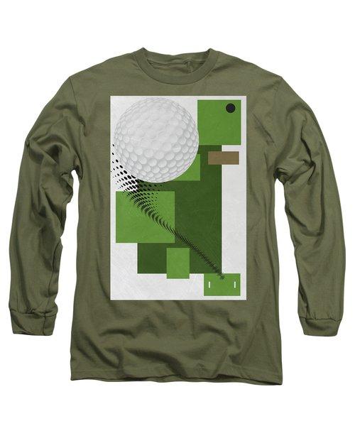 Golf Art Par 4 Long Sleeve T-Shirt