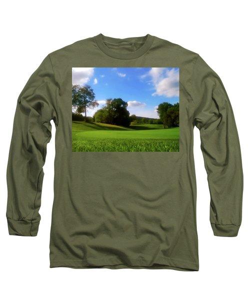 Golf Course Landscape Long Sleeve T-Shirt