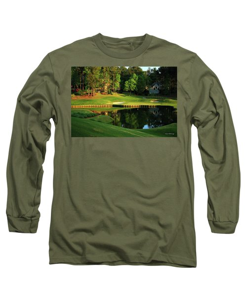 Golf The Landing #3 Reynolds Plantation Lake Oconee Ga Art Long Sleeve T-Shirt