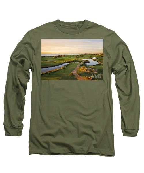 Golfing At The Gong II Long Sleeve T-Shirt