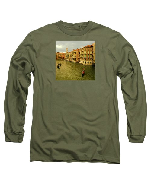 Long Sleeve T-Shirt featuring the photograph Gondola Life by Anne Kotan