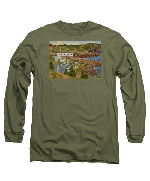 Good Dry Day Long Sleeve T-Shirt by Jane Thorpe