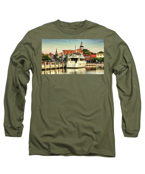 Good Morning Annapolis Long Sleeve T-Shirt