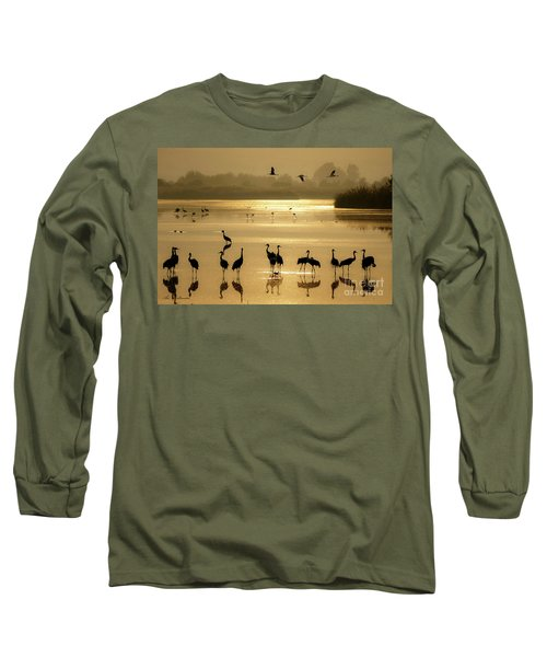 Good Morning Chula Lake Long Sleeve T-Shirt