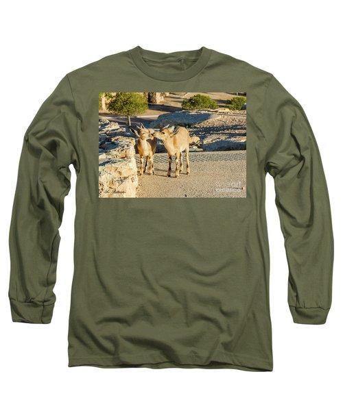 Good Morning Kiss Long Sleeve T-Shirt