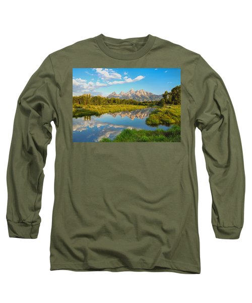 Good Morning Tetons Long Sleeve T-Shirt