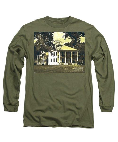 Goodwood Plantation Baton Rouge Circa 1852 Long Sleeve T-Shirt