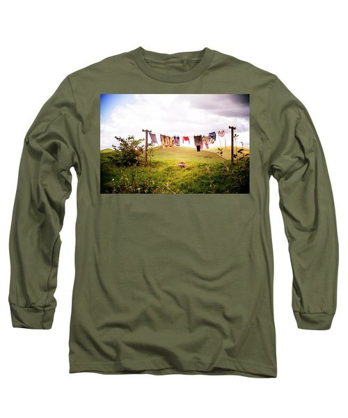 Gorgeous Sunny Day For Hobbits Long Sleeve T-Shirt
