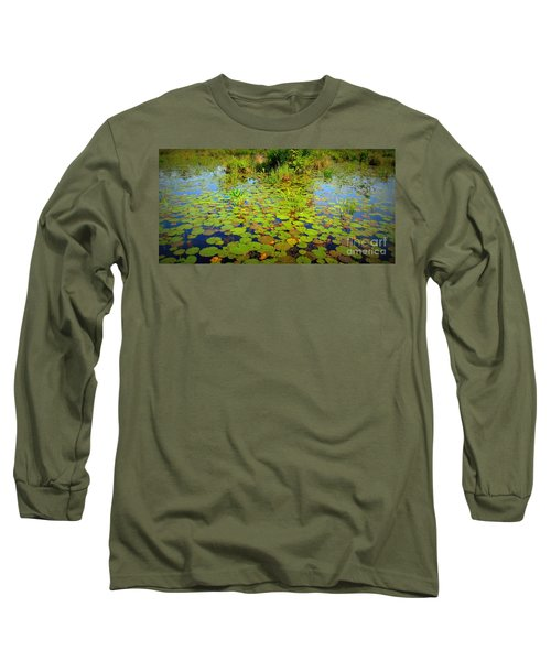 Gorham Pond Lily Pads Long Sleeve T-Shirt