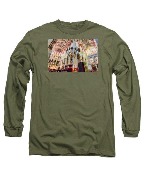 Gothic Church Long Sleeve T-Shirt by Nadia Sanowar