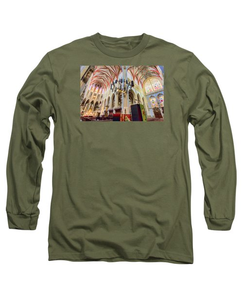 Gothic Church Long Sleeve T-Shirt