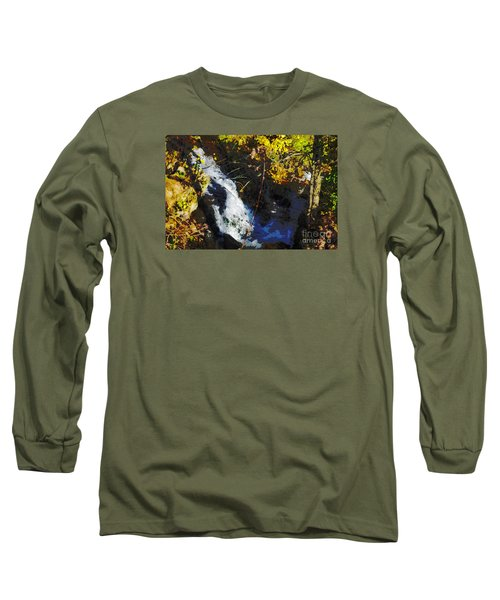 Governor Dodge State Park Long Sleeve T-Shirt by David Blank