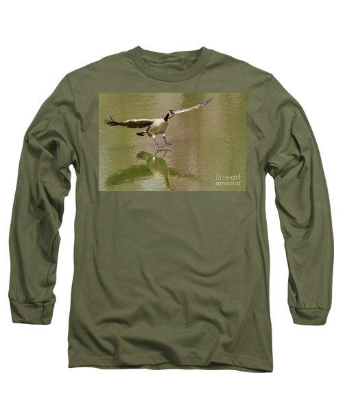 Graceful Goose Long Sleeve T-Shirt