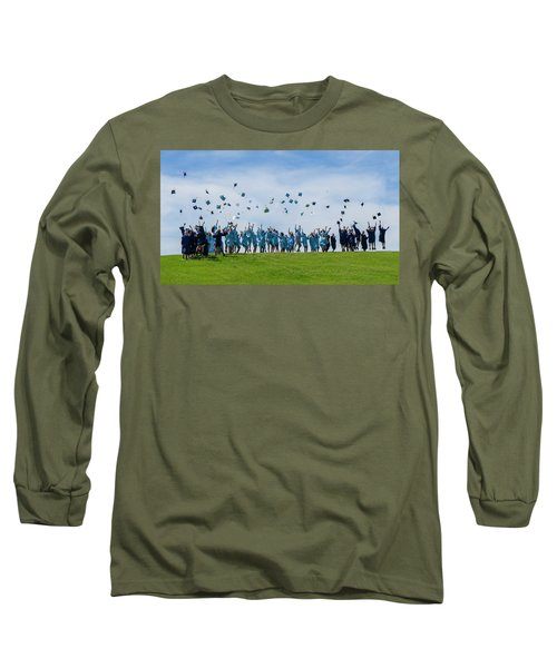 Long Sleeve T-Shirt featuring the photograph Graduation Day by Alan Toepfer