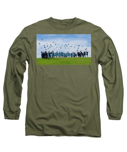 Graduation Day Long Sleeve T-Shirt by Alan Toepfer