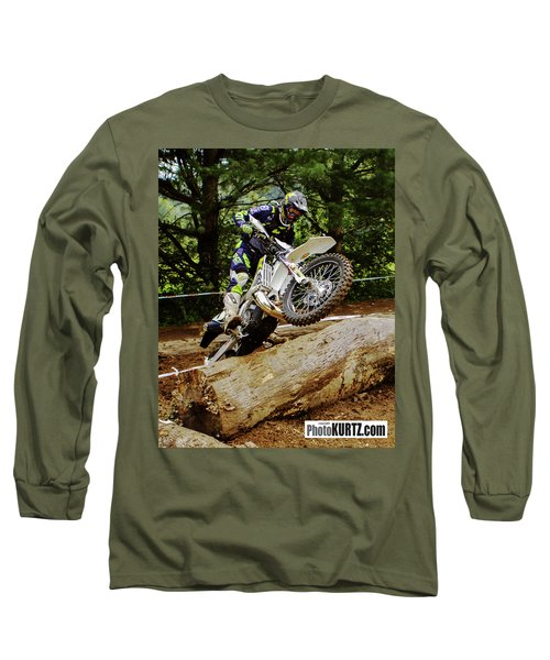 Graham Jarvis At 2017 Kenda Tennessee Knockout Enduro Long Sleeve T-Shirt