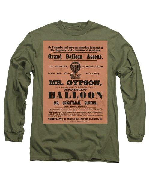 Grand Balloon Ascention Long Sleeve T-Shirt