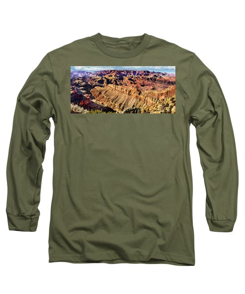 Grand Canyon Afternoon At Lipan Point Long Sleeve T-Shirt