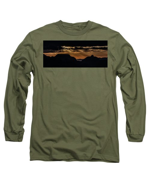 Grand Canyon Sunset Long Sleeve T-Shirt by Phil Abrams