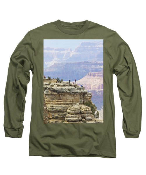 Long Sleeve T-Shirt featuring the photograph Grand Canyon Vista by Chris Dutton