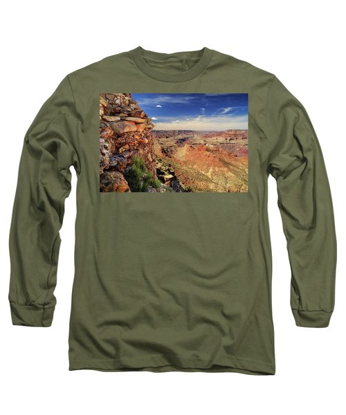Grand Canyon Wall Long Sleeve T-Shirt