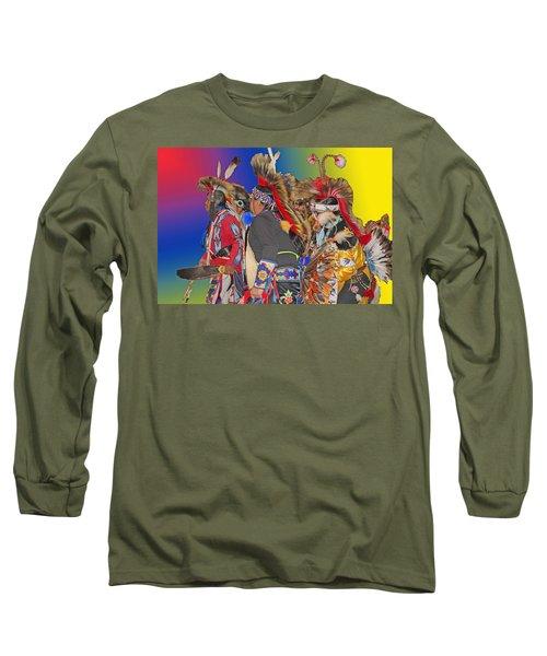 Grand Entrance Long Sleeve T-Shirt by Audrey Robillard