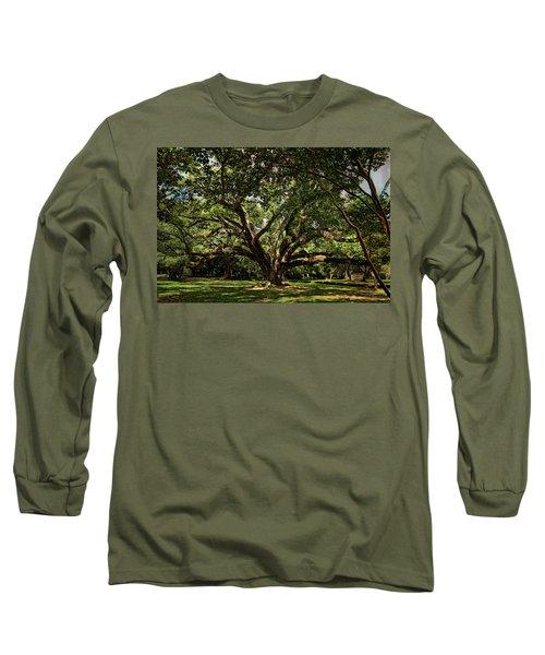 Grand Oak Tree Long Sleeve T-Shirt
