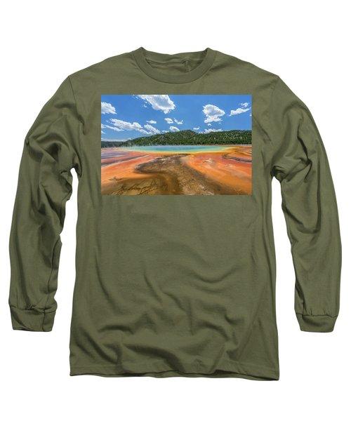 Grand Prismatic Long Sleeve T-Shirt by Alpha Wanderlust