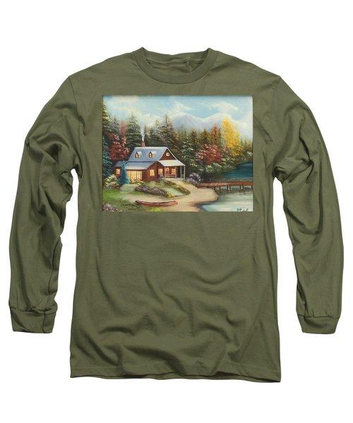 Grandpa's Cabin Long Sleeve T-Shirt