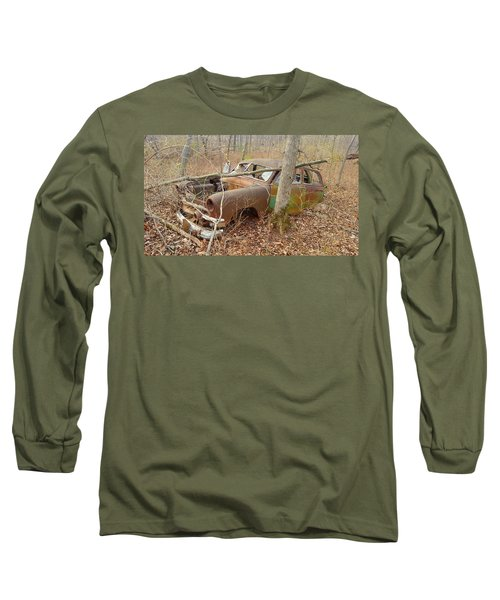 Grandpa's Ford Long Sleeve T-Shirt by Jan VonBokel