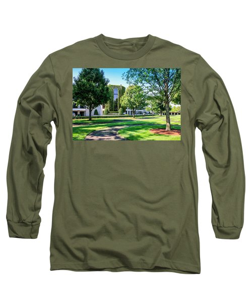 Grandstand At Keeneland Ky Long Sleeve T-Shirt by Chris Smith