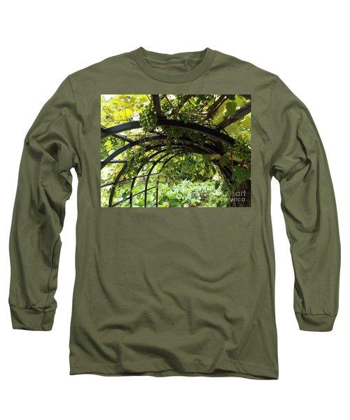Grape Tunnel Long Sleeve T-Shirt