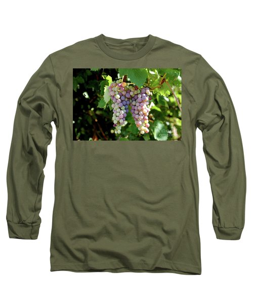 Grapes In Color  Long Sleeve T-Shirt