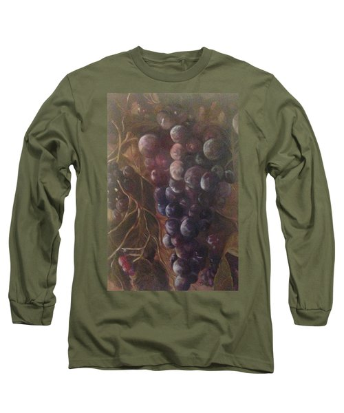 Grapes On A Vine Ca. Long Sleeve T-Shirt