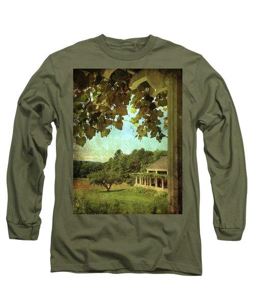 Grapes On Arbor  Long Sleeve T-Shirt